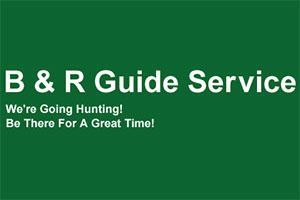 B & R Guide Service Logo