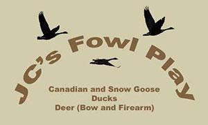 Fowl Play Guide Service Logo