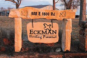 Eckman Hunting Preserve