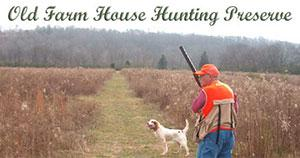 Old Farm House Hunting Preserve Logo