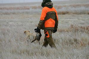Golden Prairie Hunting Service Logo