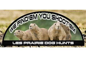 Les Prairie Dog Hunts Logo
