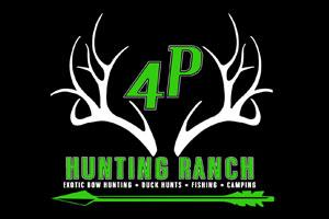 4P Hunting Ranch Logo