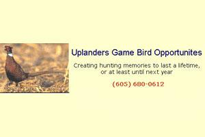 Uplanders Game Bird Opportunities