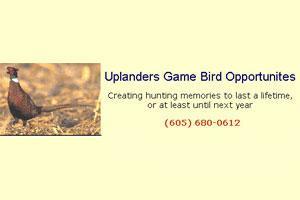 Uplanders Game Bird Opportunities