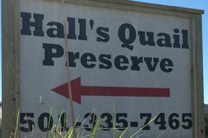 Hall's Quail Preserve