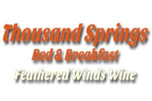 Thousand Springs Bed and Breakfast Logo