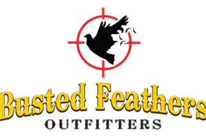 Busted Feathers Outfitters Logo