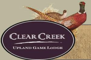 Clear Creek Upland Game Lodge Logo