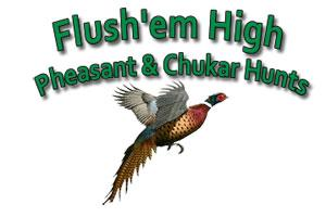Flush 'Em High Hunts Logo