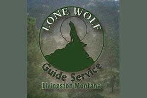 Lone Wolf Guide Service Logo