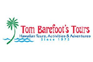 Tom Barefoot's Tours Logo