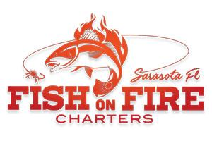 Fish On Fire Charters Logo