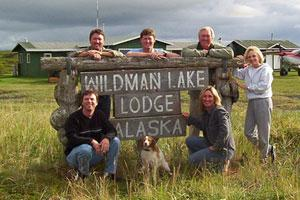 Wildman Hunting Lodge Logo