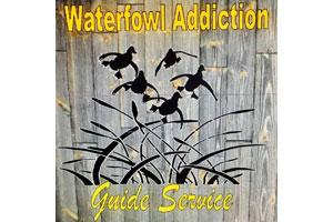 Waterfowl Addiction Guide Service Logo