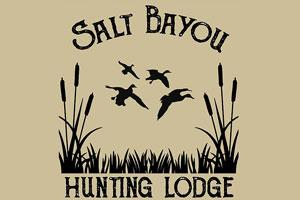 Salt Bayou Hunting Lodge Logo