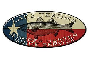 Lake Texoma Striper Hunter Guide Service Logo