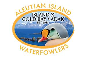Alaska Aleutian Islands Waterfowlers Logo