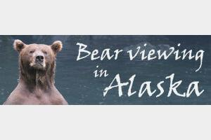 Bear Viewing in Alaska Logo