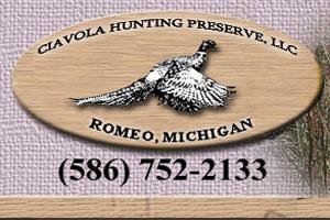 Ciavola Ranch Shooting Preserve Logo