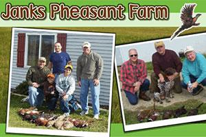 Janks Pheasant Farm Logo
