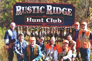 Rustic Ridge Hunt Club Logo