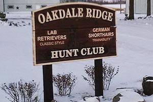 Oakdale Ridge Hunting Preserve