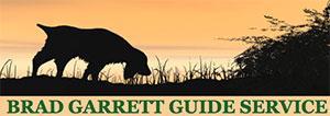 Brad Garrett Guide Service Logo