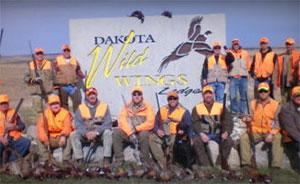 Dakota Wild Wings Lodge Logo