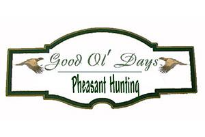 Good Ol Days Pheasant Hunting