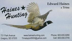 Haines Hunting Service