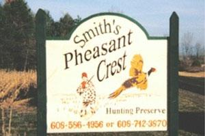 Smiths Pheasant Crest Hunting Preserve